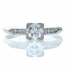 This looks almost exactly like my antique ring. Except mine is yellow gold.