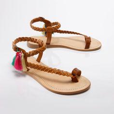 Sandales Spartiates Antik Batik pour La Redoute