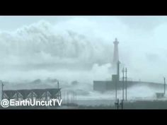 Check Out the Size of the Waves Typhoon Megi Unleashed on Taiwan Last Month     «TwistedSifter