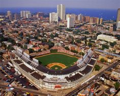 Wrigley Field - instead of being lost driving to a conference and driving by this place, I want to go to an actual game.....someday
