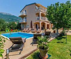 Villa+Lucija+with+pool+near+Trogir+++Holiday Rental in Croatia from @HomeAwayUK #holiday #rental #travel #homeaway