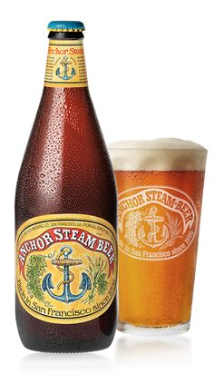 Anchor Steam Beer   Historic Craft Beer from California: 12 May 2015, Rating: 4.0
