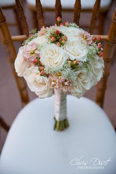 Wedding flowers at a Franciscan Gardens wedding in San Juan Capistrano by Chris Diset Photography http://blog.chrisdiset.com/category/wedding-venues/franciscan-gardens/