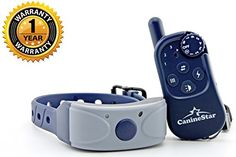 Special Offers - Caninestar 550 yards Ergonomic Remote Dog Training Collar  8 Static Shock Levels Plus Vibration & Beep  Rechargeable Waterproof Durable with Anti-Interference Design for Both Indoor & Field Use - In stock & Free Shipping. You can save more money! Check It (August 11 2016 at 03:25AM)…