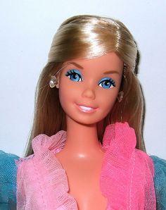 1970's Barbie dolls.