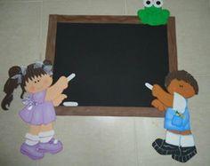 Painel para sala de aula e aniversário