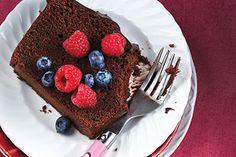 Chocolate Pound Cake with Fudgey Glaze recipe - Today's Parent
