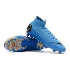 0ca14b23 Nike Mercurial Superfly 6 Elite FG Blue Black Nike Mercurial Superfly,  Soccer Shoes, Soccer