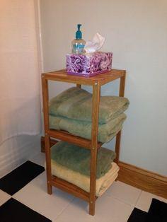 bamboo 3 shelf shoe rack for bathroom kitchen bedroom entry way or closet inskeppa