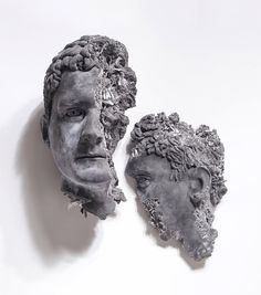 Recent sculptures by the incredibly talented American artist Daniel Arsham.