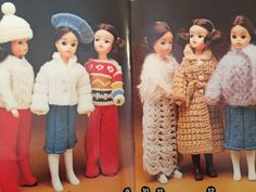 Vintage Knitting Patterns Dolls Clothes, Patons Knitting Book C38 DOLLS CLOTHES 23 Designs