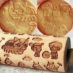 studio ghibli rolling pin.......holy moly
