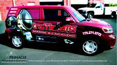 car wrap by Pinnacle Custom Signs #cars #carwrapping #advertising #graphics