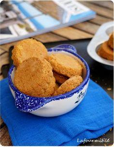 palets bretons Palet Breton, Blondies, Cornbread, Christmas Cookies, Deserts, Food And Drink, Cooking, Breakfast, Ethnic Recipes
