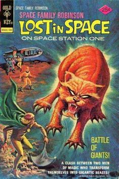 Lost In Space - On Space Station One - Men Of Magic Who Transform - Battle Of Giants - Tiger