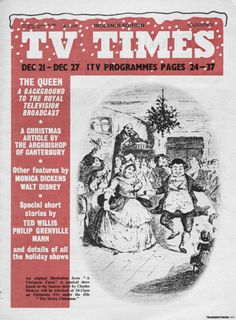 So much more than TV times Christmas Articles, Tv Times, Magazine Covers, Short Stories, My Childhood, Vintage Christmas, Britain, Magazines, December