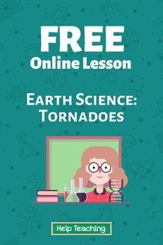 A storm is a type of violent atmospheric disturbance. Hurricanes, thunderstorms, and blizzards are storms. So are tornadoes. A tornado is a rotating column of air that forms from thunderstorm clouds down to the ground.   Click the link to view the full online lesson about tornadoes! Practice questions and other resources available. #scienceed #stem #onlinelesson #onlinelearning