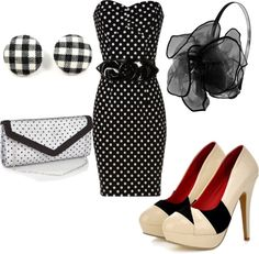 Fabulous '50s look @ $100 - inspired by StopStaring, created by sonia-roxy-m on Polyvore