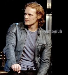"""From Barcelona (""""BcN"""") to the World [as a WmN] : Photo Sam Heughan 24. Mai 2016 Jibland Rom"""