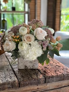 Birthday bouquet Photo: Carolyn Espley-Miller @slimpaley