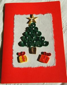 quilling christmas | FREE Quilling Patterns – Quilled Christmas Cards Quilling - Quilled ...