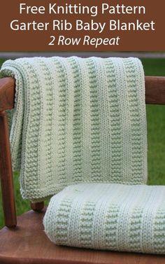 Easy Blanket Knitting Patterns, Easy Knit Baby Blanket, Free Baby Blanket Patterns, Knitted Baby Blankets, Knitted Throws, Beginners Knitting Patterns Free, Baby Blanket Knitting Pattern Free, Knitting Blankets, Best Baby Blankets