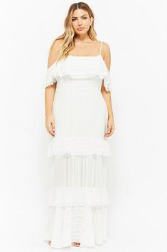 2eb0f89eb1 Spring Has Sprung   We re Digging These Pieces from Forever 21 Plus! White  Maxi DressesPlus Size ...
