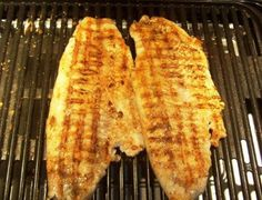 Blackened Walleye Grilled Recipe