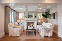 Open Coffered Ceiling | ... the height of the ceiling you did these coffered ceilings on? - Houzz