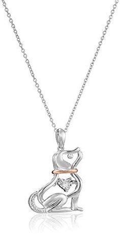 Sterling Silver with Pink Gold Plating Diamond Dog Dancin... http://www.amazon.com/dp/B016MG8B10/ref=cm_sw_r_pi_dp_Ibpjxb0701RTQ