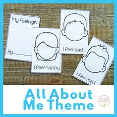 My Book of Feelings- Preschool Theme