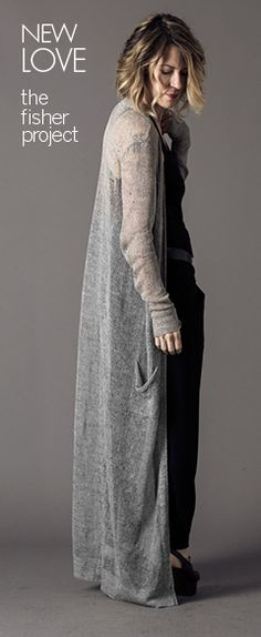 eileen fisher tipster kim in the maxi cardigan