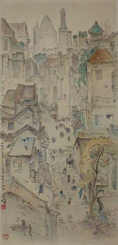 Lee Man Fong - Guangzhou , Sothebys auction