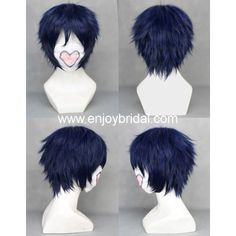 Cosplay Wig Inspired by Blue Exorcist Rin Okumura$35.00