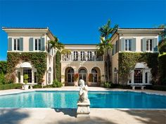 Extraordinary Property of the Day: Mediterranean-style Lakefront Villa in Palm Beach, Florida