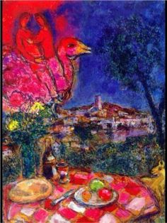 Chagall ~Via Esther Morales