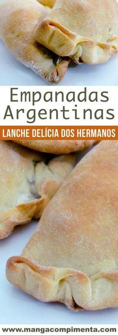 Empanadas Argentinas-uma nova paixão na minha cozinha! #receita #comida #lanche