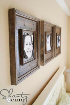 Diy rustic pallet frames hometalk diy pinterest rustic check out these stunning 20 diy picture frame ideas to frame up youre your best captured picture in for a rustic and natural appealing diy picture frame solutioingenieria Images