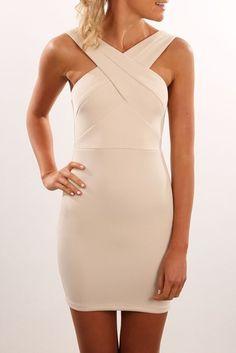 Rowans Dress Nude