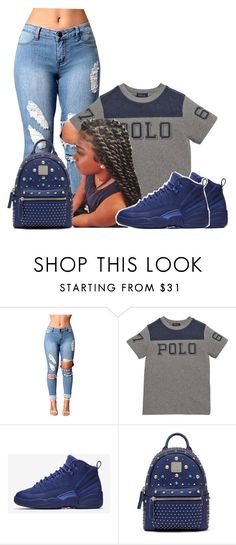 """""""Untitled #1103"""" by bubblesthegr8t ❤ liked on Polyvore featuring Ralph Lauren, NIKE and MCM"""