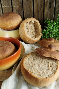 Chlebki do żurku i nie tylko.. ;) (Bread bowls - recipe in Polish)
