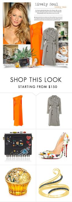 """""""Lively Soul"""" by thewondersoffashion ❤ liked on Polyvore featuring Emilio Pucci, Topshop, Dolce&Gabbana, Christian Louboutin, House of Sillage, dolceandgabbana, emiliopucci, topshop, christianlouboutin and blakelively"""