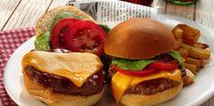 Mini Wisconsin Cheddar Burgers