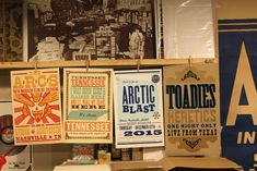 Custom Posters and Design - Hatch Show Print - Letterpress Lives Here - Nashville, TN