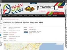 Ontario Cup Downhill Awards Party and BBQ