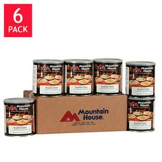 60 Total Servings of Mountain House Freeze Dried Breakfast Skillet