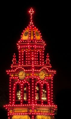 Plaza Clock, Kansas City - Christmas time is so special here!