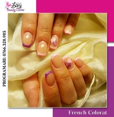 colored french nails http://www.larybeautycenter.ro/