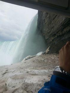 Underneath the Falls!  Niagara Falls, Canada