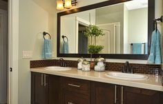 Davenport extra bath Boise Hunter Homes
